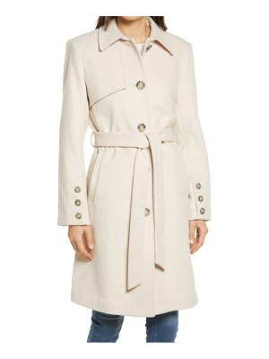 Sam Edelman belted wool blend coat