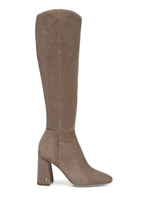 Sam Edelman clarem knee-high suede boots