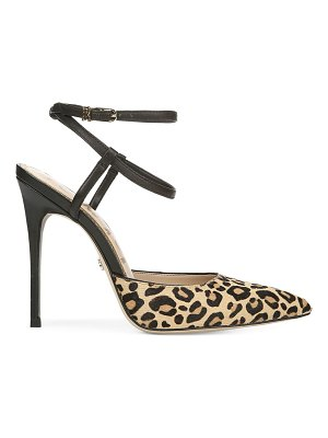 Sam Edelman deana leopard-print calf hair & leather pumps