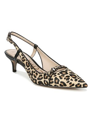 Sam Edelman denia genuine calf hair slingback pump