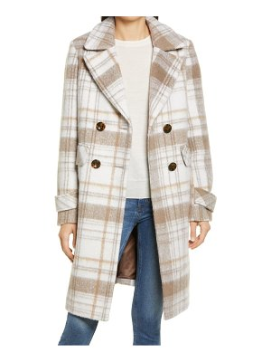 Sam Edelman double breasted tweed coat