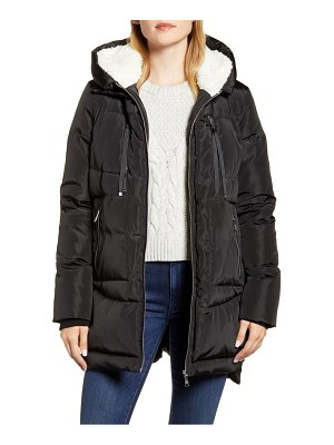 Sam Edelman faux fur lined puffer coat