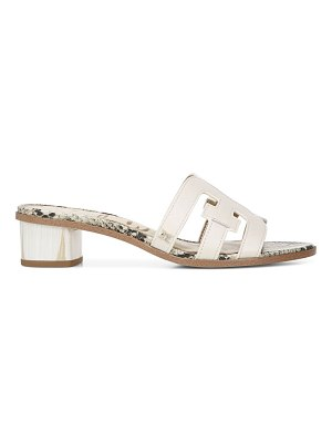 Sam Edelman Illie Leather Block Heel Sandals