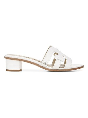 Sam Edelman Illie Leather Slide Sandals