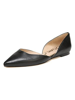 Sam Edelman Rodney Pointed-Toe Leather Flat