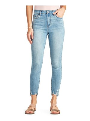 Sam Edelman the stiletto high waist chewed hem ankle skinny jeans