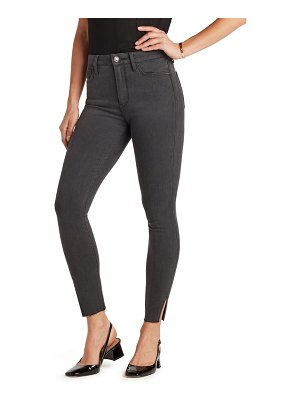 Sam Edelman the stiletto high waist raw hem ankle skinny jeans