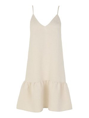 Samse Samse sams?e sams?e judith sleeveless drop waist ruffle dress