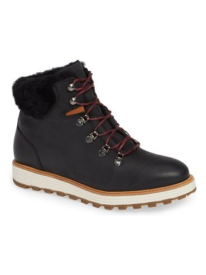 Samuel Hubbard alpine water resistant genuine shearling lined boot