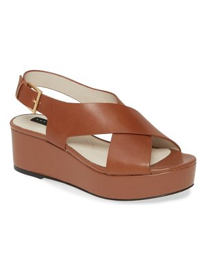 Sanctuary cruise platform sandal