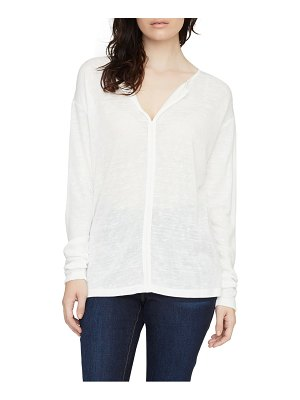 Sanctuary elina split neck long sleeve tee