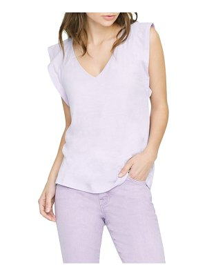 Sanctuary lily flutter sleeve tee
