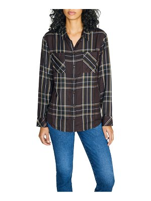 Sanctuary new generation plaid boyfriend shirt