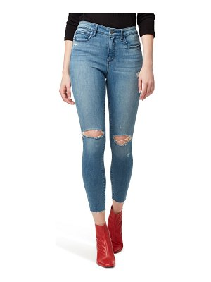 Sanctuary social standard ripped high waist ankle skinny jeans