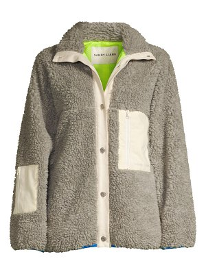 Sandy Liang ollie fleece jacket