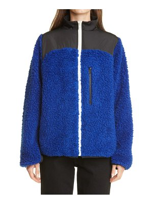 Sandy Liang rushi fleece jacket