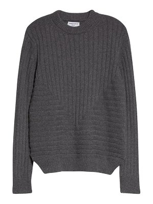 Sansovino 6 ribbed cashmere crewneck sweater