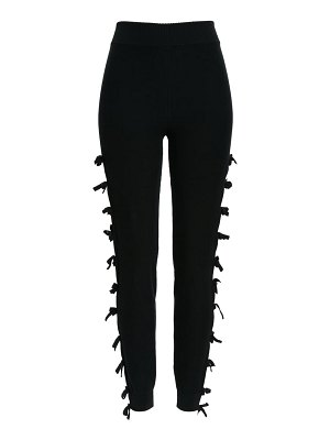 Sansovino 6 tie trim knit leggings