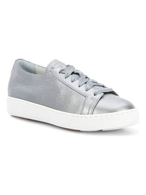 Santoni cleanic lace-up sneaker