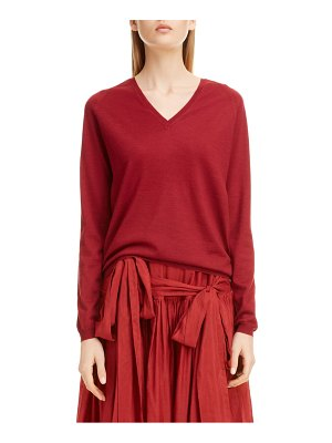 Sara Lanzi wool v-neck sweater