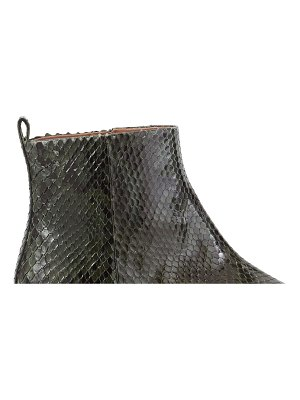 Sartore Python ankle boots