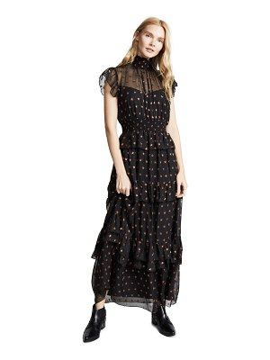 Scotch & Soda/Maison Scotch high neck maxi dress