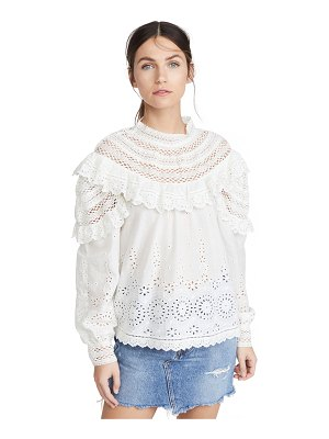Sea daisy long sleeve top