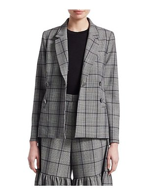 Sea bacall plaid blazer