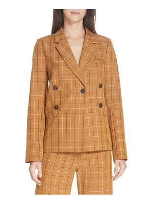 Sea poirot plaid blazer