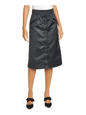 Sea simone snake embossed skirt
