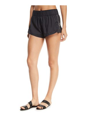 Seafolly Active Runner Side-Zip Boardshorts