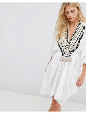 Seafolly Embroidered Caftan