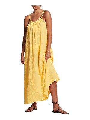 Seafolly Soleil Double Cloth Maxi Coverup Dress