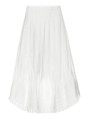 See By Chloe cotton midi skirt