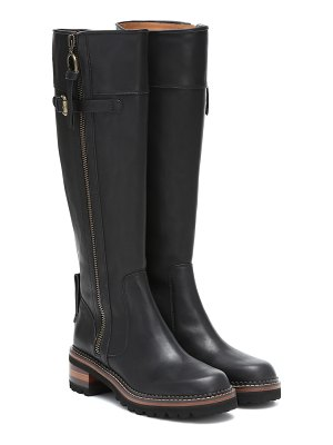 See By Chloé leather knee-high boots