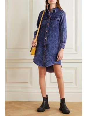 See By Chloe acid-wash denim mini dress