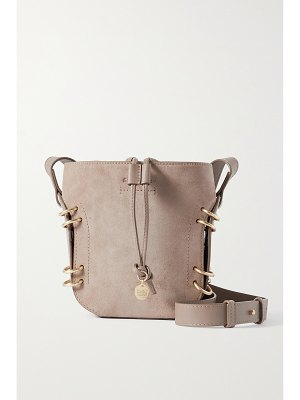 See By Chloe alvy suede and leather bucket bag