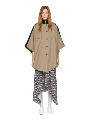 See By Chloe beige city cape coat