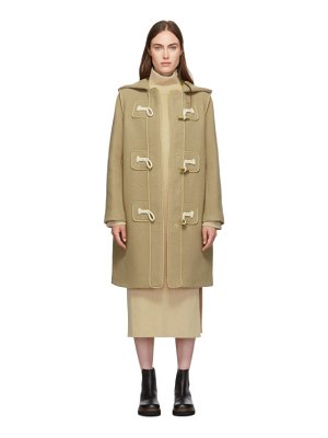 See By Chloe brown duffle coat