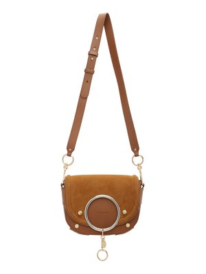 See By Chloe brown mara crossbody bag