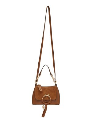 See By Chloe brown mini joan bag