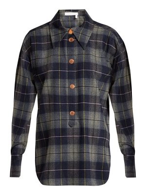 See By Chloe checked flannel shirt
