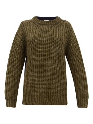 See By Chloe colour block dropped sleeve sweater
