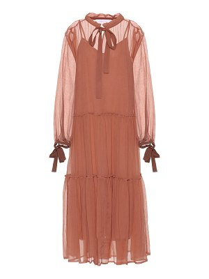 See By Chloe Cotton and silk dress