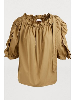 See By Chloe Cotton top