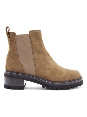 See By Chloe crosta chunky-sole suede chelsea boots