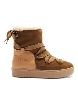 See By Chloe crosta nubuck snow boots