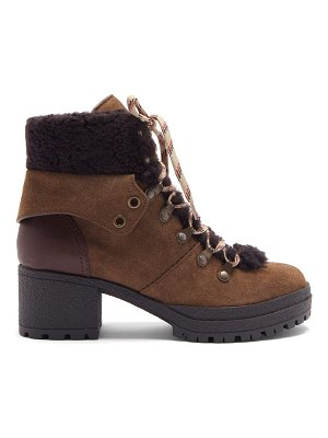 See By Chloe crosta suede hiking boots