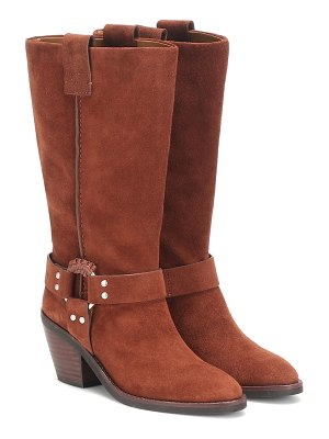 See By Chloe eddy high suede boots