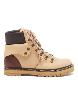 See By Chloe eileen leather hiking boots